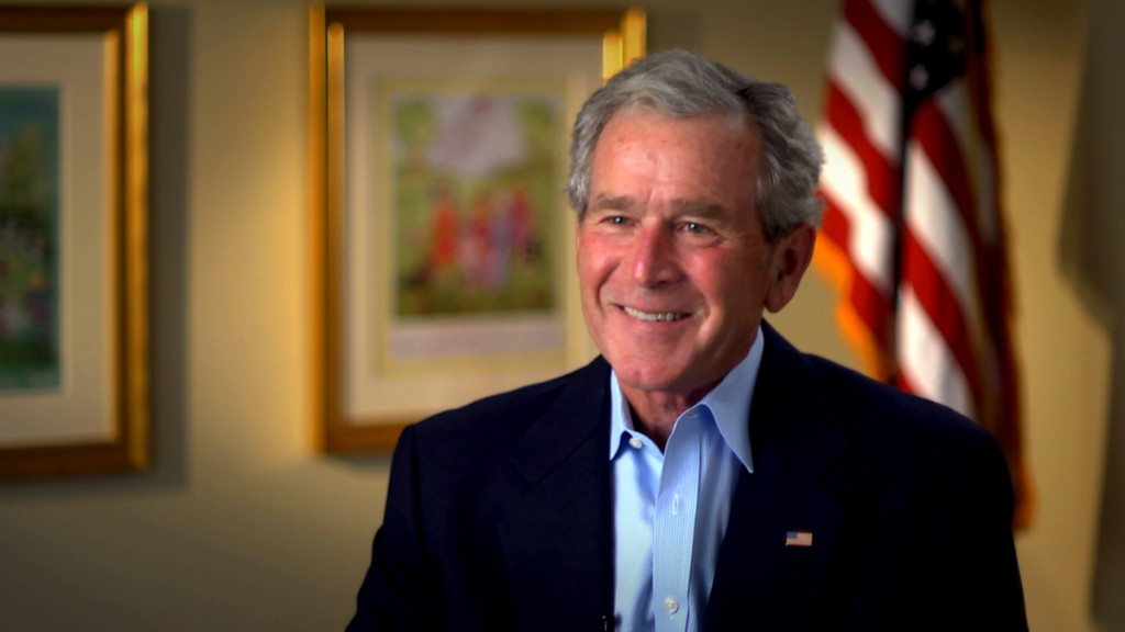 George W Bush Interview with Panasonic AF-100