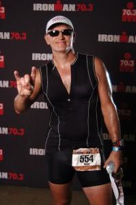 Russ Pond, Half Ironman