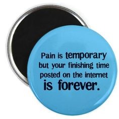 Pain in temporary Badge