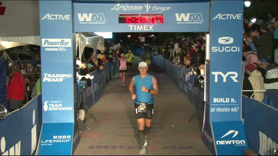 Arizona Ironman Finish