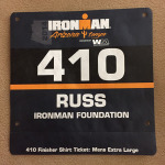 Arizona Ironman Race Bib