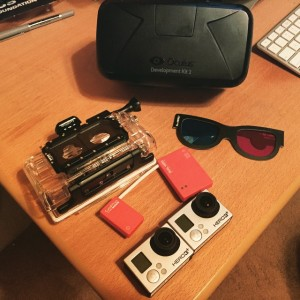 GoPro 3D and Oculus Rift